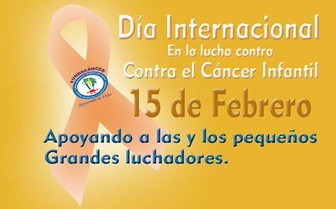 Día Internacional Cáncer Infantil
